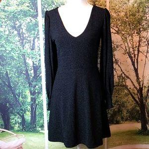 SUSAN MONACO BLACK EVENING DRESS